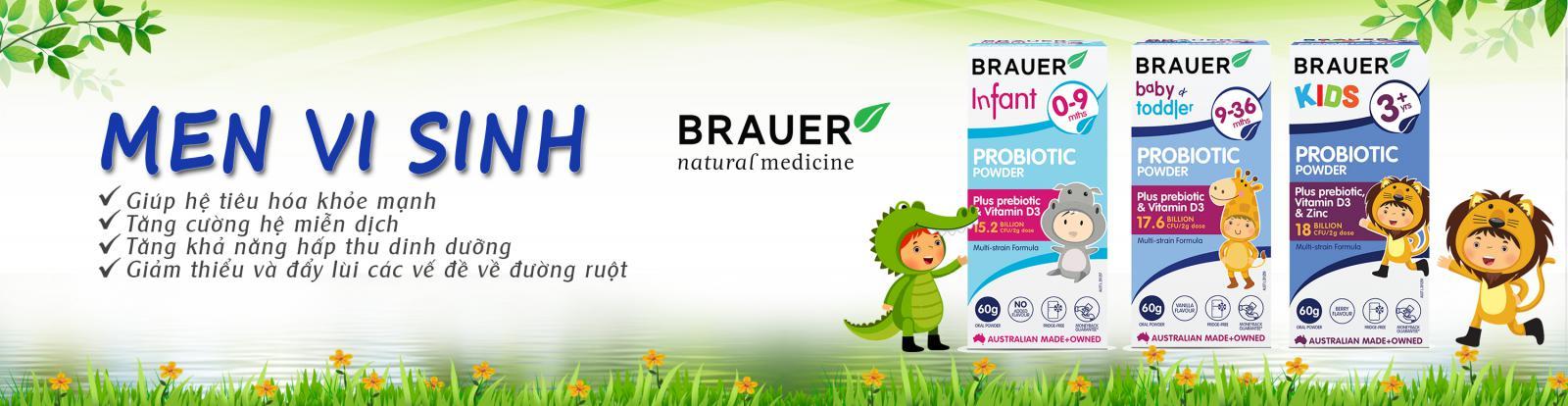 Tìm đại lý, nhà phân phối sản phẩm Brauer nội địa Úc tại thị trường miền Bắc