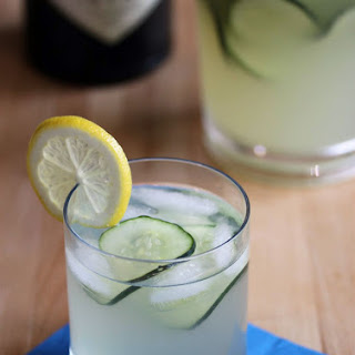 Cucumber Lemonade Gin Punch.