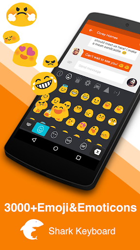 Light Wave-Emoji Keyboard