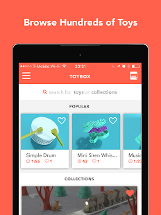 Toybox - 3D Print your toys! - náhled