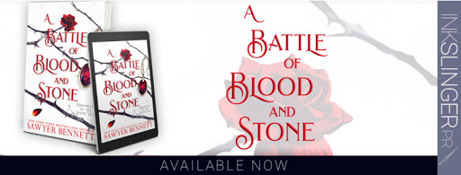 Blog Tour ~~ A Battle of Blood and Stone by Sawyer Bennett