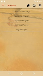 iBreviary Screenshot