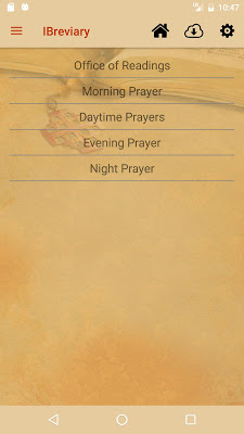 iBreviary - screenshot