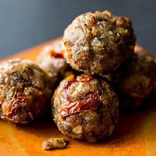 Tuscan Pork Meatballs.