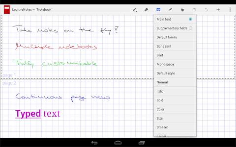 LectureNotes screenshot 2
