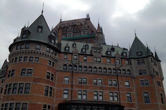 Photo: Chateau Frontenac in Quebec City