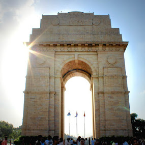 India Gate, Delhi by Prasanna Natarajan - Buildings & Architecture Statues & Monuments