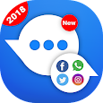 All Social Networks Messenger 2018 icon