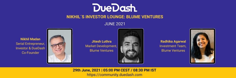 Nikhil's Investor Lounge: Jitesh & Radhika - Blume Ventures