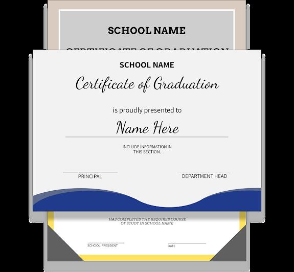 Diploma Template | Create A Diploma Certificate Today - Design Wizard