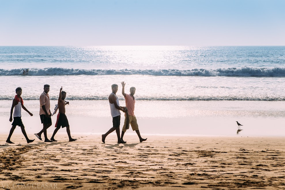 Пляж Агонда, Южный Гоа