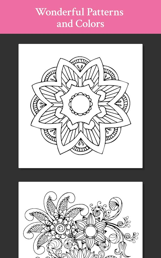 Pattern & Design Coloring Book - Android Apps on Google Play