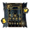 Golden Spider Theme Launcher icon
