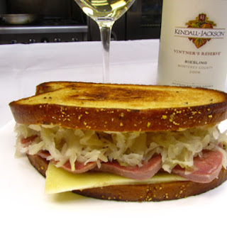 Corned Beef Tongue Reuben Sandwiches