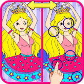 Princess Differences Puzzle