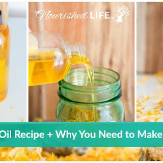 Calendula Oil Recipe + Why You Need to Make This Today.