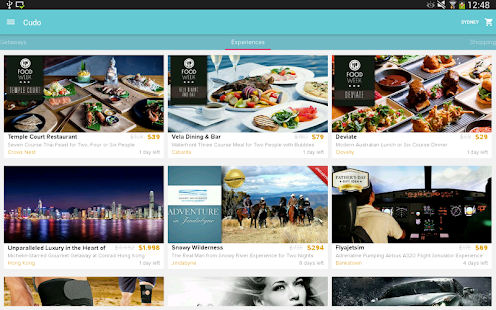 Cudo - Daily Deals & Coupons- screenshot thumbnail