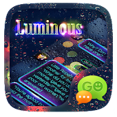 (FREE) GO SMS LUMINOUS THEME