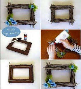 craft ideas picture frames diy photo frame ideas android apps on play 3933
