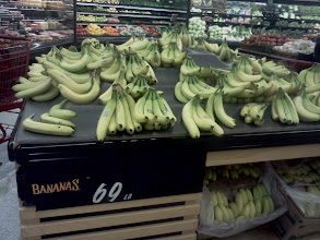 Photo: Bananas! This is another item we always seem to need.
