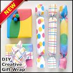 DIY Creative Gift Wrap Icon