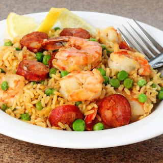 Surf and Turf Orzo Recipe