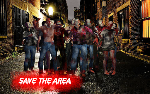 Zombie War Shooting - Commando Zombie Shooter Game 3 screenshots 7