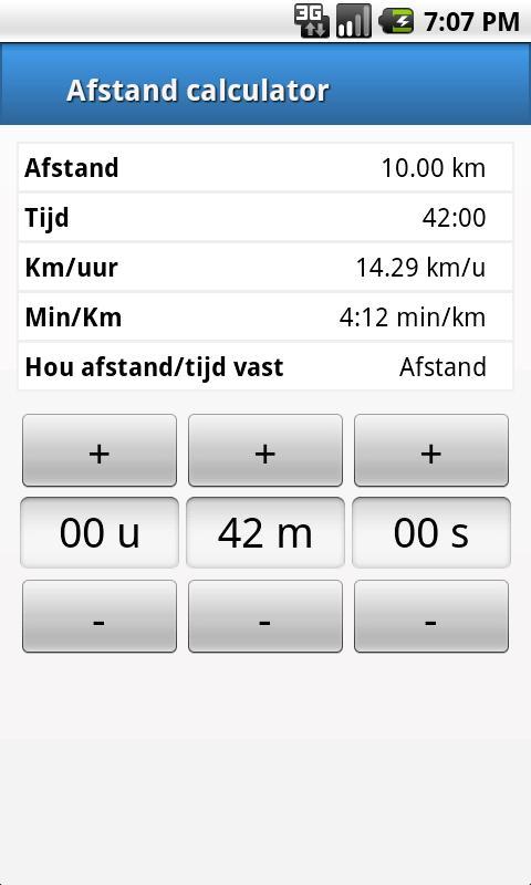 Скриншот Afstandmeten