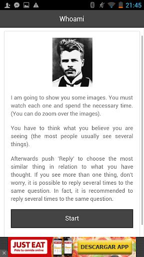 Whoami - Personality test