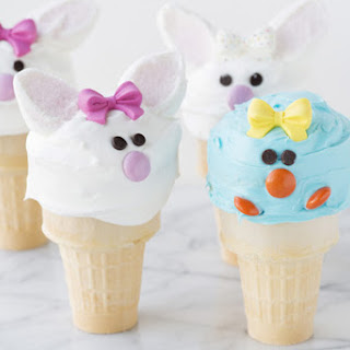 Bunny and Chick Cup Cones