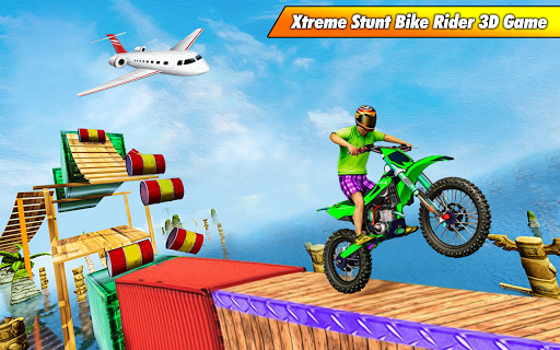 Bike Stunt Racing 3D - Free Games 2020 1.2 Paidproapk.com 1