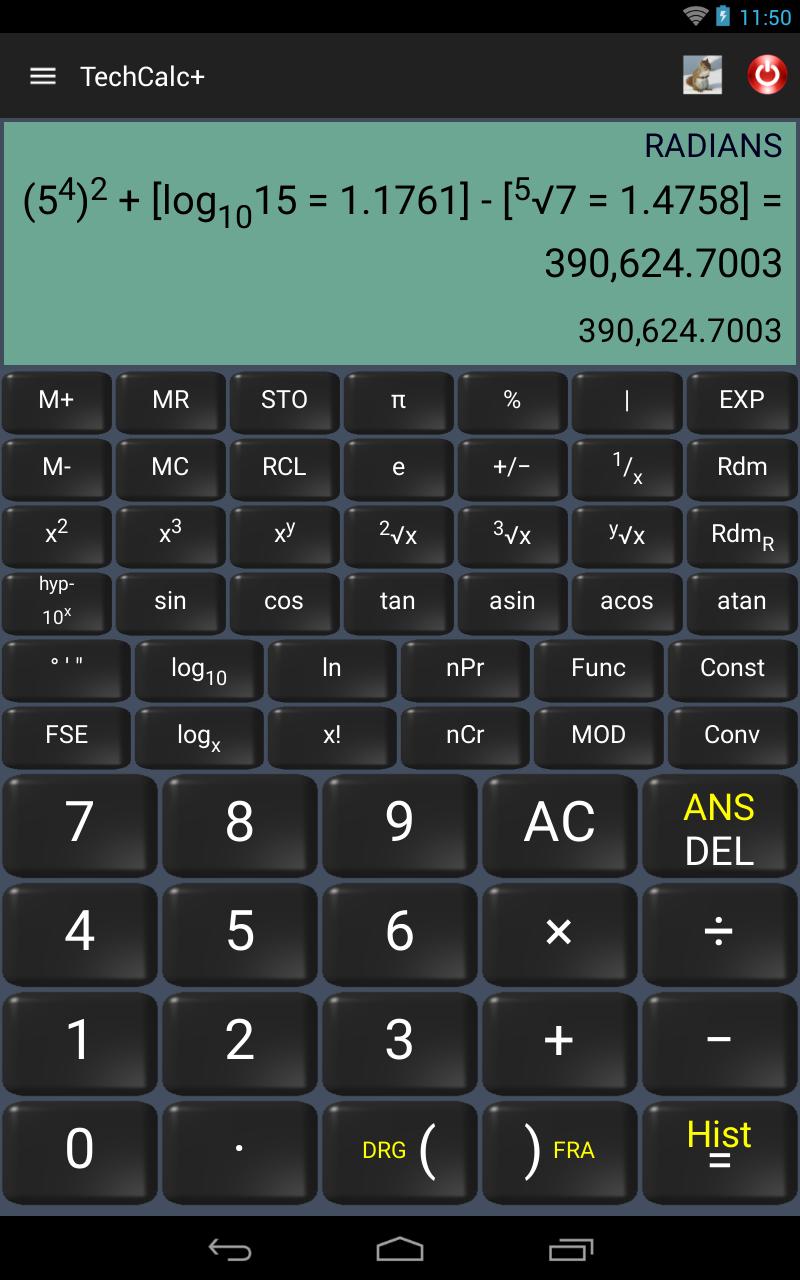 Scientific Calculator (adfree) Screenshot 9