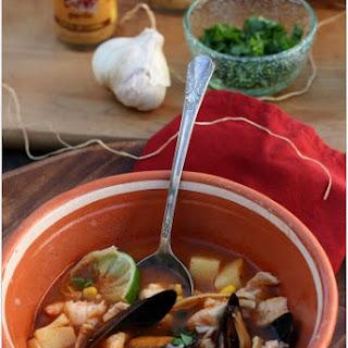 Caldo de Mariscos (Seafood Soup)