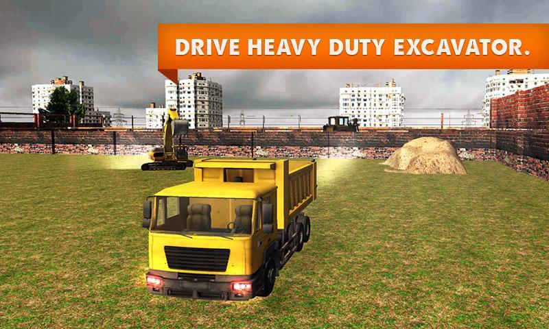 Sand-Excavator-Truck-Simulator 26