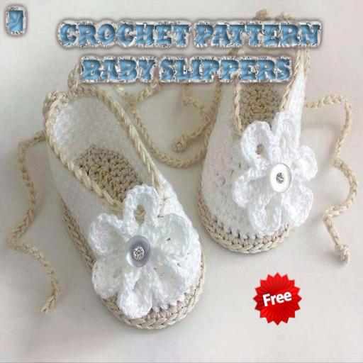 Crochet Pattern Baby Slippers