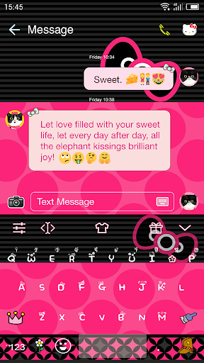 Download Emoji Keyboard for Hello Kitty Google Play