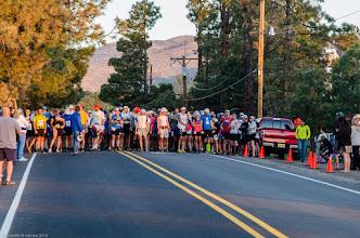 Photo: Before the run; Jemez Mountains Trail Run
