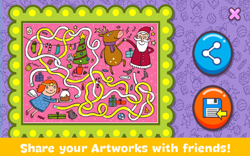 Christmas Coloring Book screenshots 21