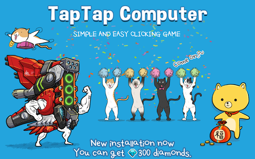 Code Triche Tap Tap Computer APK MOD screenshots 1
