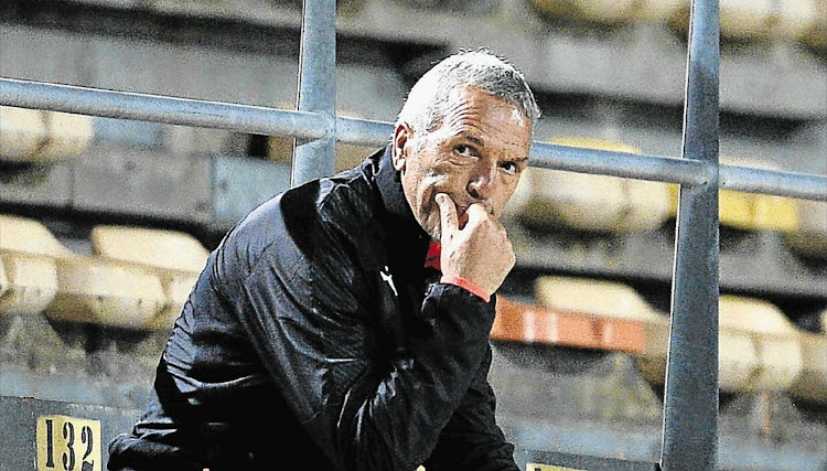 Coach Ernst Middendorp. File photo.