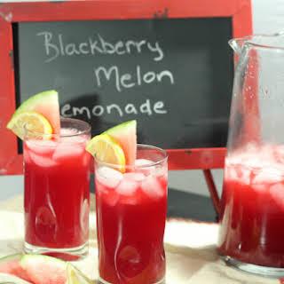 Blackberry Melon Lemonade.
