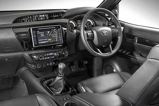 The interior gets a new instrument cluster and satellite navigation in the infotainment system. Picture: TOYOTA