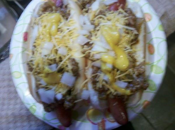 Coney Dogs Recipe
