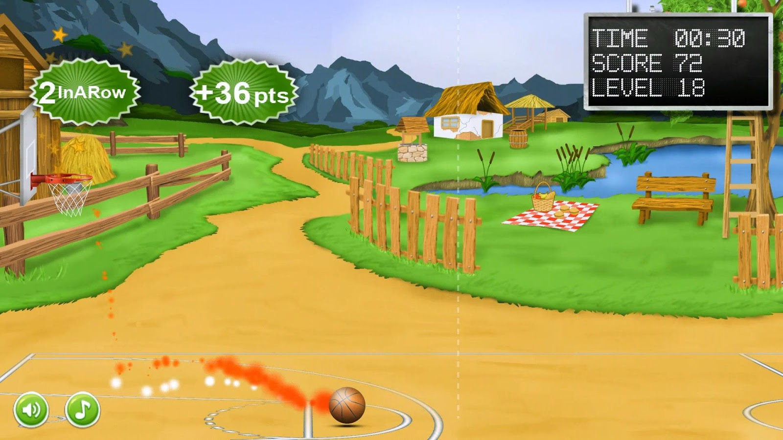 Basketball Free Throws- screenshot