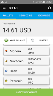 Crypto Wallet screenshot