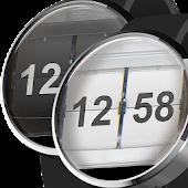 Watch Face Flip Clock 2in1
