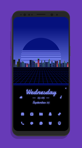synth for klwp screenshot 2