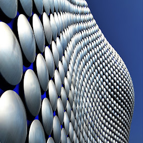 Selfridges Birmingham  by Kevin Morris - Buildings & Architecture Public & Historical ( shop, building, birmingham, silver, selfridges, architecture )