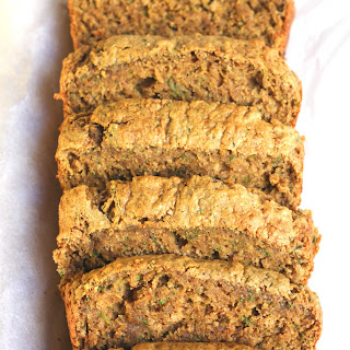 Oil Free Healthy Zucchini Bread