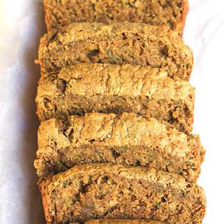 Oil Free Healthy Zucchini Bread.